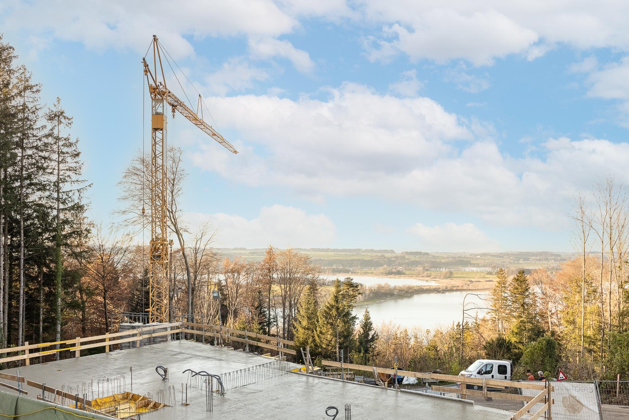 Baustellenbegleitung Mattsee KW47 Aussicht WEB