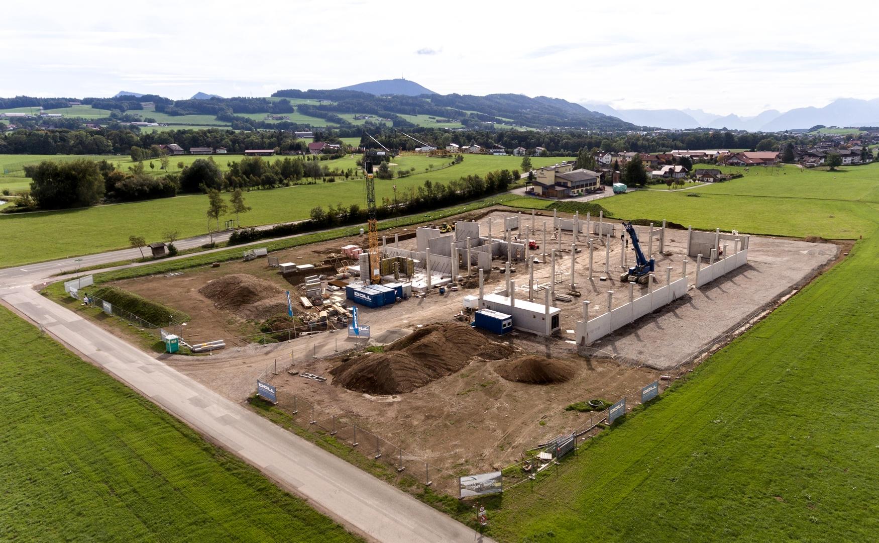 DOLL Baufhof wöchentlicher Baufortschritt 27 09 2019 Front WEBSITE